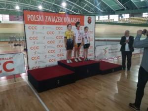 Mistrzostwa Polski Szkółek Kolarskich w kolarstwie torowym Pruszków 10 - 11.12.2016