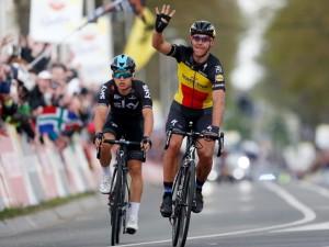 Kwiatkowski i Niewiadoma na podium Amstel Gold Race