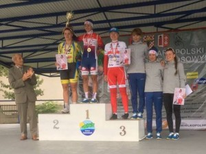 Katarzyna Wilkos wygrywa w Koźminku