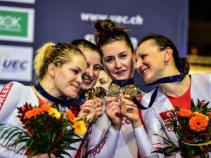 Torowe ME: Polki z brązowym medalem w wyścigu na dochodzenie!