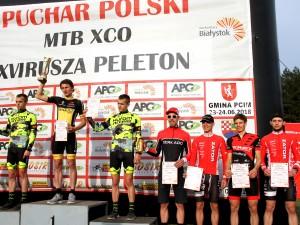 Gabriela Wojtyła i Krzysztof Łukasik najlepsi w Białymstoku podczas pierwszej edycji Pucharu Polski MTB XCO 2018