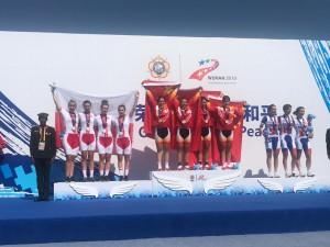 Dwa srebrne medale w kolarstwie kobiet   na 7 Światowych Sportowych Igrzyskach Wojskowych