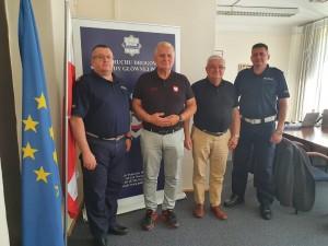 Spotkanie w Biurze Ruchu Drogowego Komendy Głównej Policji