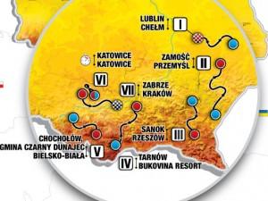 Aktualny skład Reprezentacji Polski na 78 Tour de Pologne
